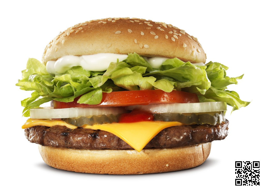 Burger King Whopper with Cheese Burger