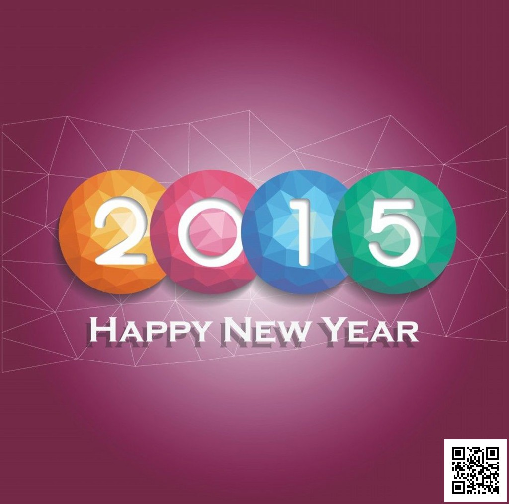 Happy-New-Year-2015-Colorful