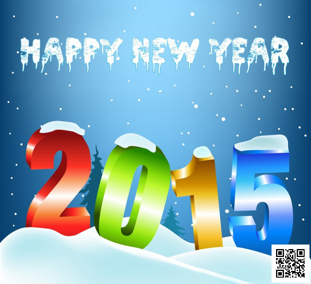 Happy-New-Year-2015-Colorful-Snow