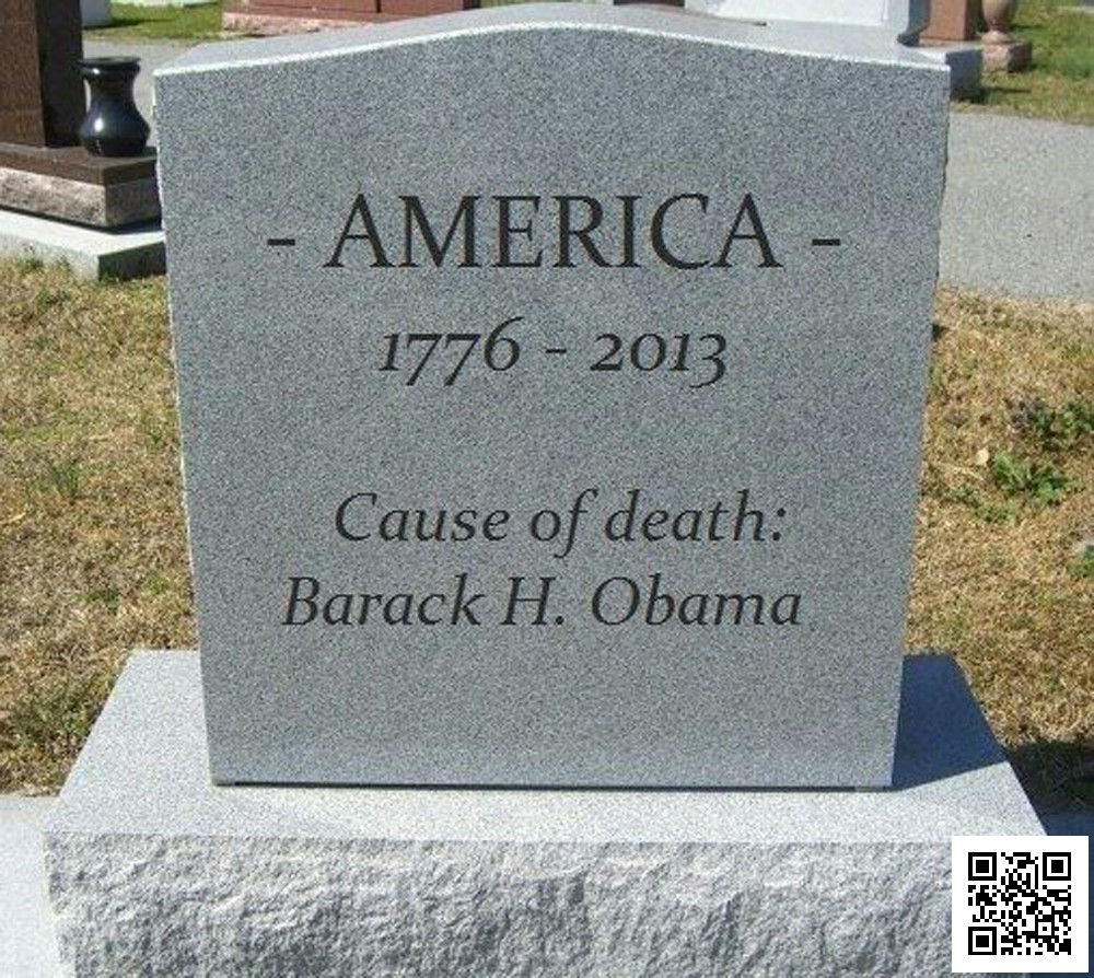 Death of America - Tombstone